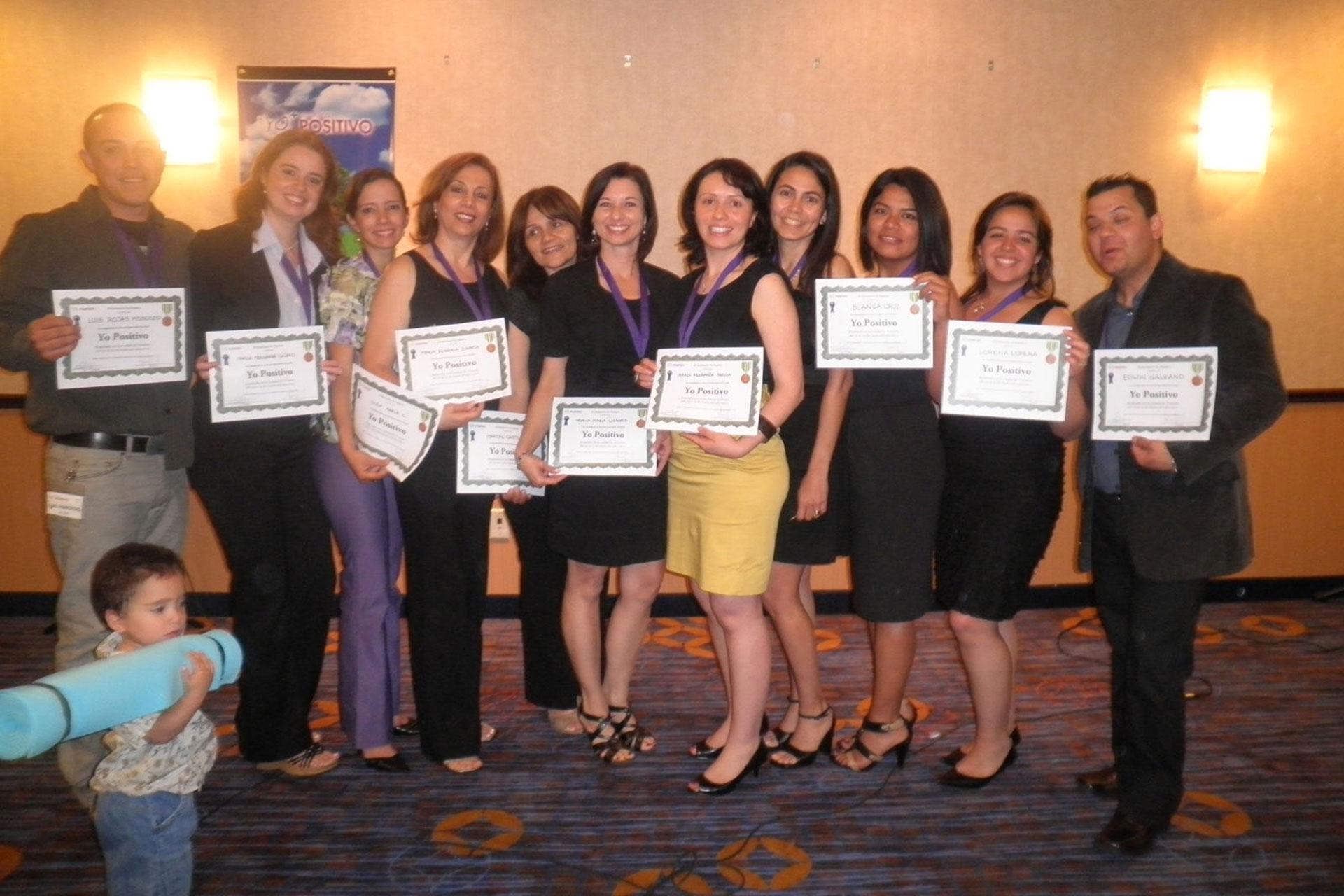 Graduados del Seminario Yo Positivo Serie 11 de Toronto